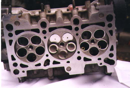 5 Valve Cylinder V6 Head Suckin Big Time Air
