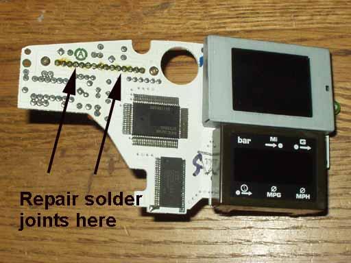 Trip Computer Repair on Turn Signal Circuit