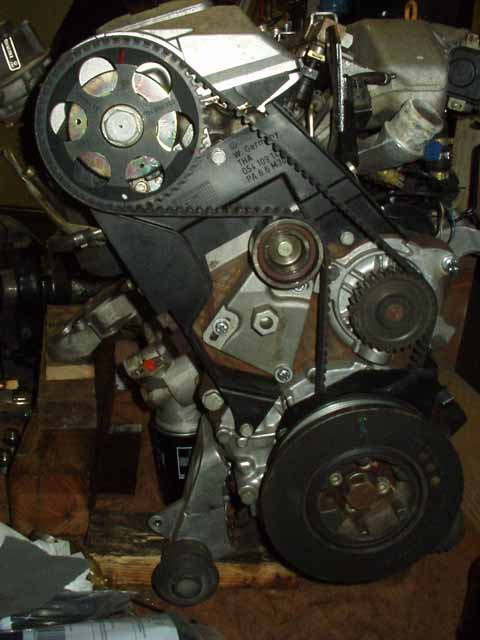 timing belt replacement photos i5 turbo 20v s4 aan engine rh sjmautotechnik com 1989 Audi 100 2000 Audi 100