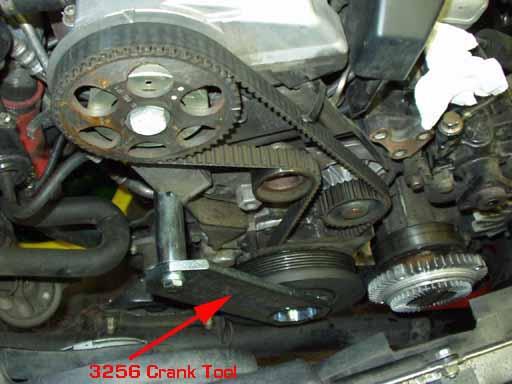 timing belt replacement photos i5 turbo 20v s4 aan engine rh sjmautotechnik com Gates Timing Belt Guide Book Timing Belt Installation