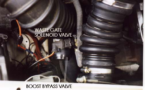 WASTE GATE CONTROLS- SOLENOID AND HOSES