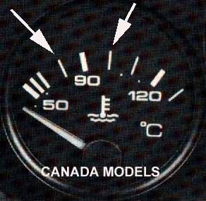 Coolant Gauge Canada on engine coolant temperature sensor